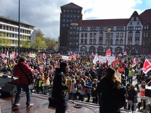 Warnstreik in Dortmund