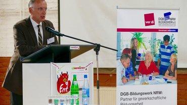 Arbeitsdirektor Klaus Klar
