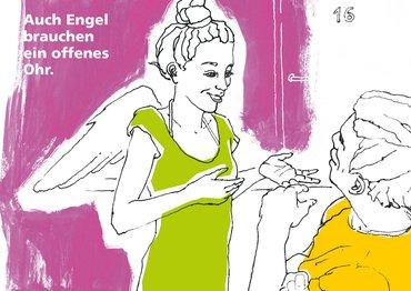 Auch Engel brauchen ein offenes Ohr