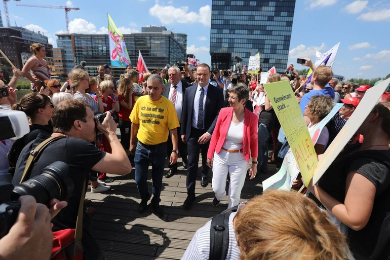 Kundgebung für mehr Personal am 20.06.2018 in Düsseldorf