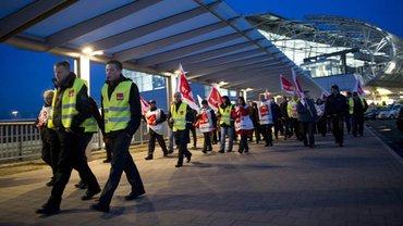 Sicherheitskräfte am Flughafen: Ihr Streik war erfolgreich