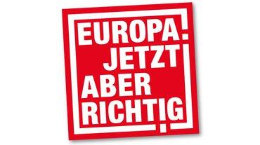 Europa. Jetzt aber richtig - Teaserformat