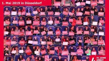 1. Mai Düsseldorf - Arbeit und Leben zur Europawahl