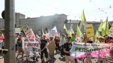 Demonstration zur Gesundheitsminister*innenkonferenz am 05.06.2019 in Leipzig