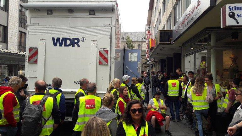 Medien, WDR, Medien Kunst Industrie, Streik