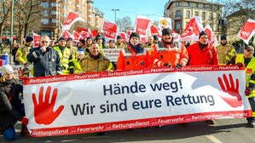 Übergriffe gegen Feuerwehrleute in Mönchengladbach