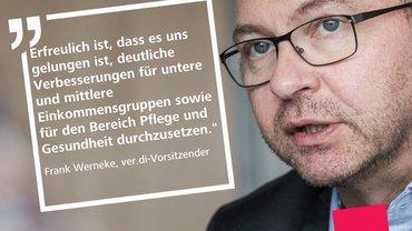 Frank Werneke, ver.di-Bundesvorsitzender