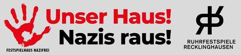 Unser Haus! Nazis raus!