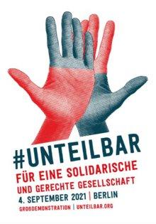 unteilbar Großdemonstration in Berlin