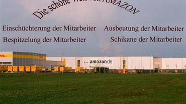 Solidarisch mit Amazon KollegInnen